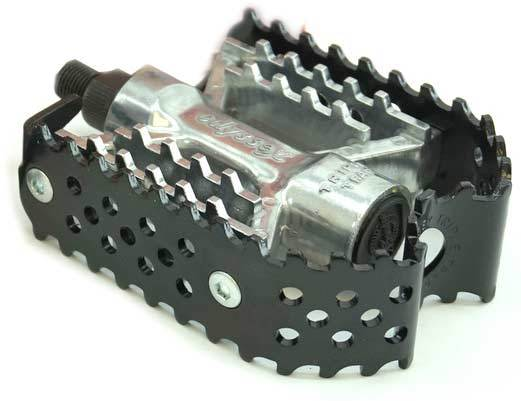 Odyssey Triple Trap Pedal in Black at Albe's BMX Bike Shop
