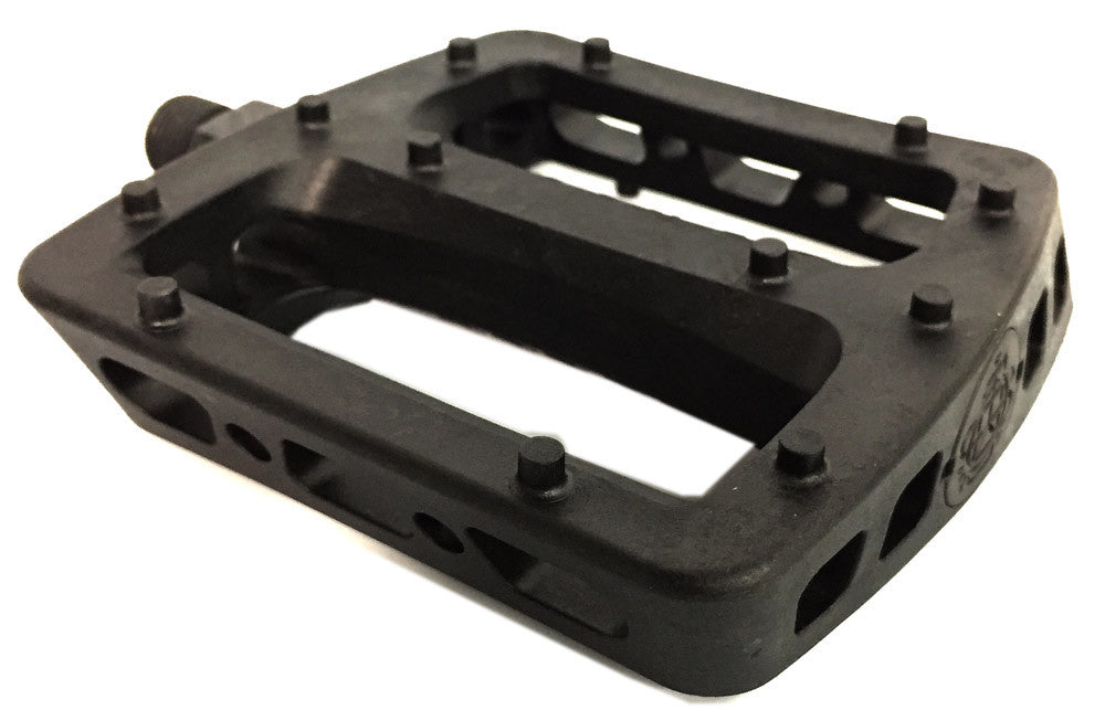 Odyssey BMX Twisted Pro PC pedals in Black at Albe's BMX Shop Online