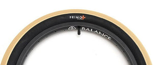 Primo Nate Richter BMX Tire in Off White color at Albe's BMX bike Shop Online