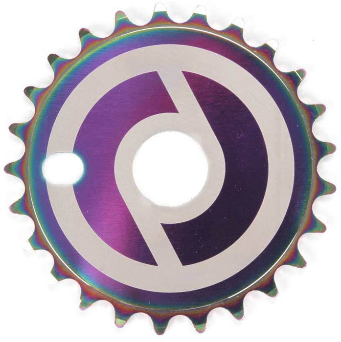 Primo Solid V2 Sprocket in Oil Slick at Albe's BMX Bike Shop