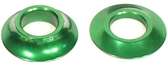 Profile Cone Spacer Kit in Green at Albe's BMX