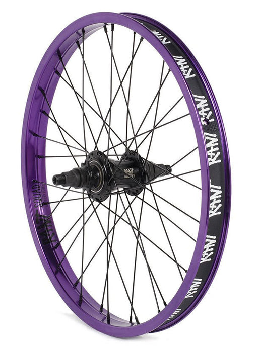 Rant Moonwalker II Freecoaster Wheel in Purple at Albe's BMX Bike Shop