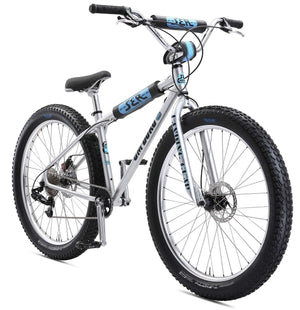 SE Bikes 2019 OM Duro 27.5+ bike in sparkle Silver at Albe's BMX Bike Shop Online