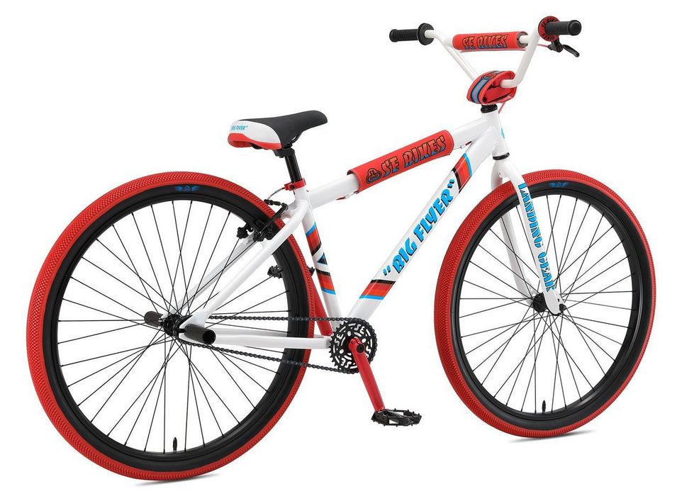 SE Bikes 2019 Big Flyer 29 inch bike in white at Albe's BMX Bike Shop Online