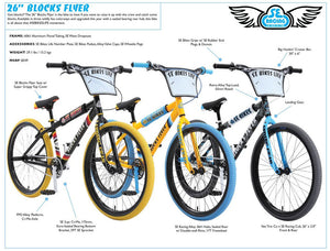 SE Bikes Blocks Flyer 2019 BMX Bikes at Albe's BMX Bike Shop Online