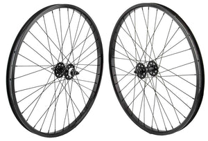 SE Racing 26 inch BMX Wheel Set in Black at Albe's BMX bike Shop Online