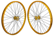 SE Racing 29 Inch Wheel Set Gold