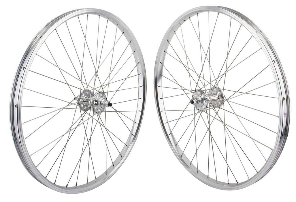SE Racing 26 inch BMX Wheel Set in Silver at Albe's BMX bike Shop Online
