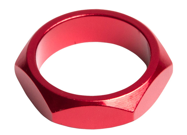SE Bikes Retro Headset Spacer in red at Albe's BMX Bike Shop