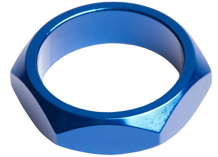 SE Bikes Retro Headset Spacer in blue at Albe's BMX Bike Shop