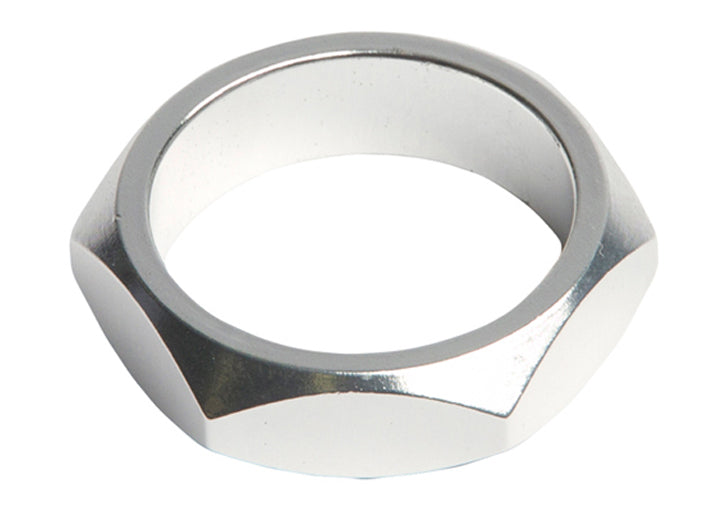SE Bikes Retro Headset Spacer in silver at Albe's BMX Bike Shop