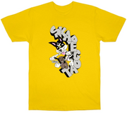 SKAPEGOAT x FRKO T-SHIRT Yellow/Small