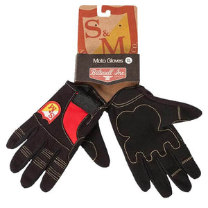 S&M Biltwell Shield Gloves at Albe's BMX Online