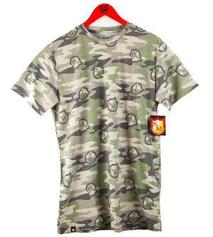 S&M Camo Shield T-Shirt at Albes.com