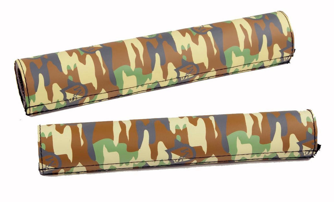 S&M Camo Shield Wrap Pad Set at Albe's BMX