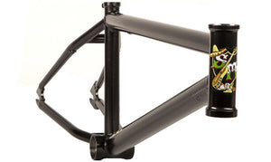 S&M DTF Frame in black at Albe's BMX