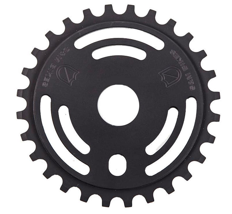 S&M Drain Man Sprocket in Black at Albe's BMX Bike Shop