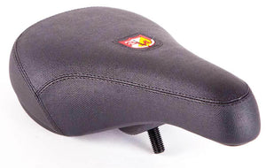 S&M Fat Pivotal Shield Seat in black at Albe's BMX