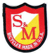 S&M Shield Patch 2.5