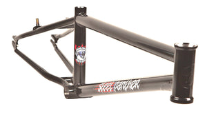 S&M Steel Panther Frame in Black at Albe's BMX Online