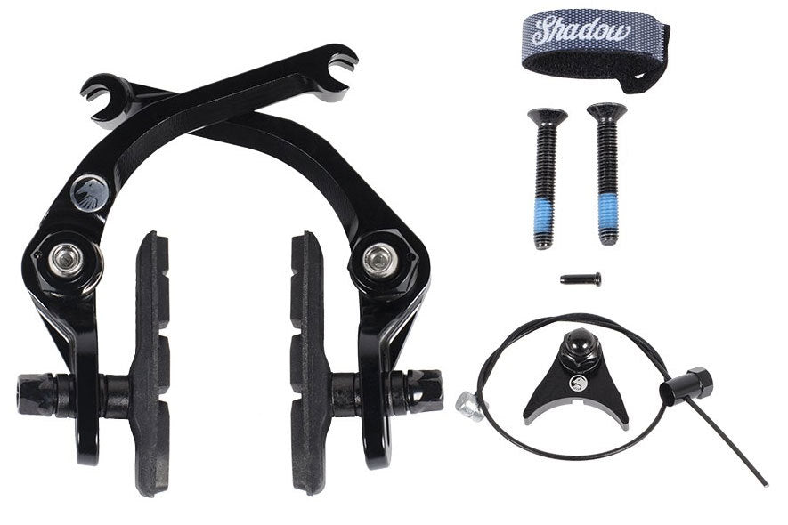 Shadow Sano V2 Featherweight brake in black at Albe's BMX Bike Shop Online