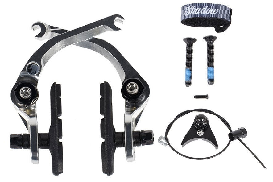 Shadow Sano V2 Featherweight brake in polished at Albe's BMX Bike Shop Online