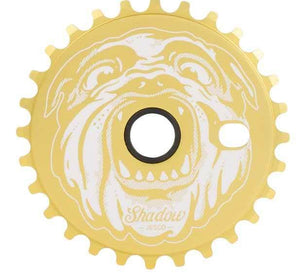 Shadow Jesco Sprocket in Gold at Albe's BMX Bike Shop Online