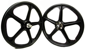 Skyway Tuff Wheel II Mags Black at Albe's BMX Online