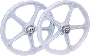 Skyway Tuff Wheel II Mags White at Albe's BMX Online
