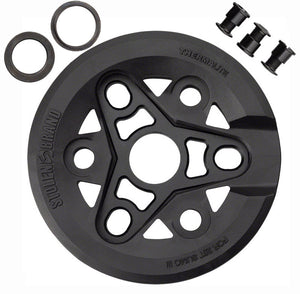 Stolen Sumo III Sprocket w/ Thermalite Guard in black at Albe's BMX Online