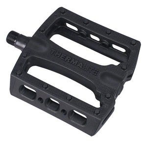 Stolen Thermalite pedals in Black at Albe's BMX