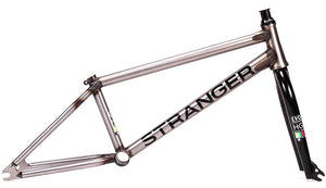 Stranger Ballast EVO Frame / Fork Set in Raw at Albe's BMX Online