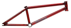Stranger Piston BMX Frame in Red at Albe's BMX Bike Shop Online