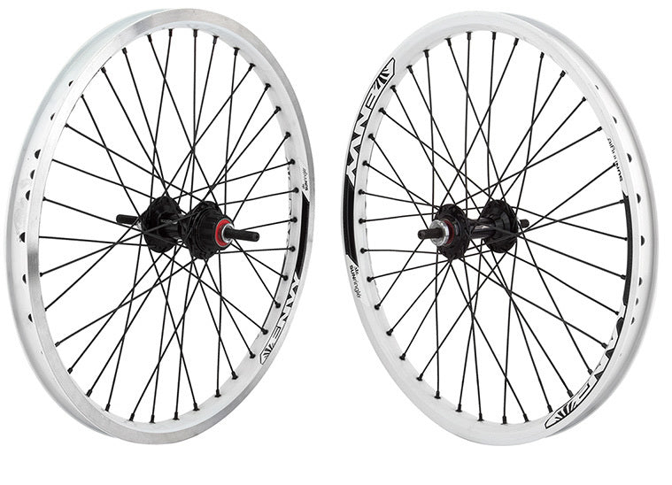Sun Envy BMX wheelset in chrome at Albe's BMX