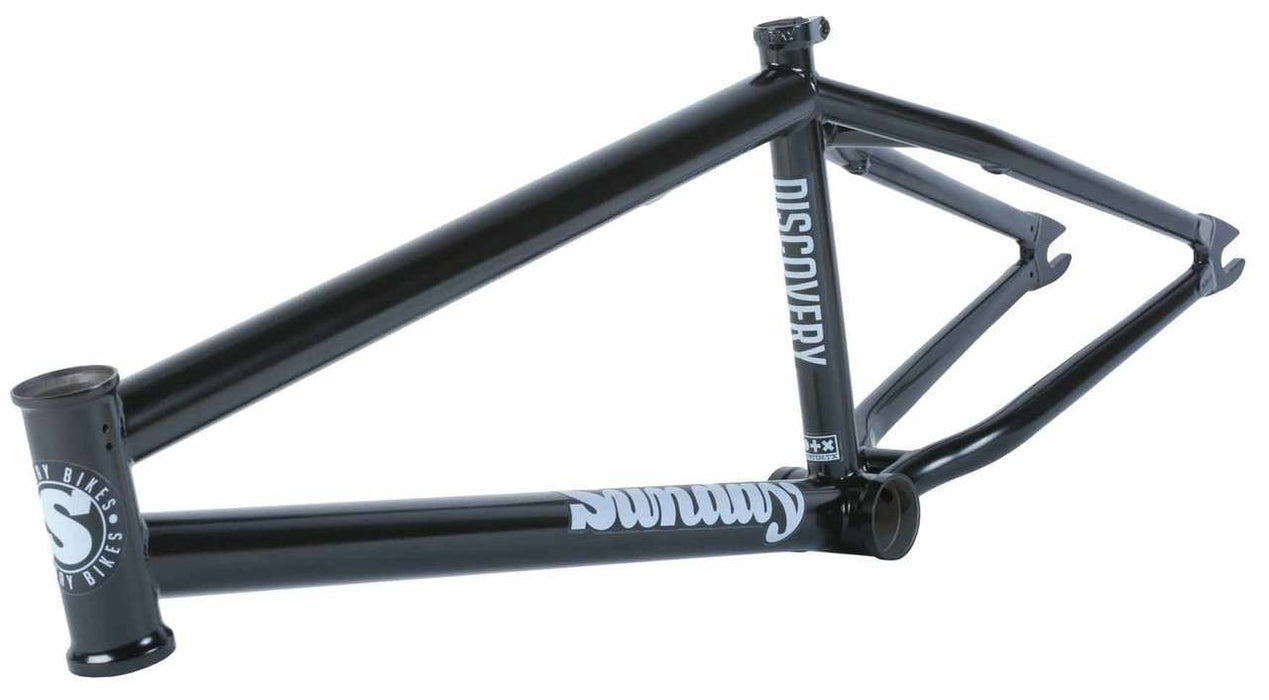 Sunday Discovery Frame in black at Albe's BMX