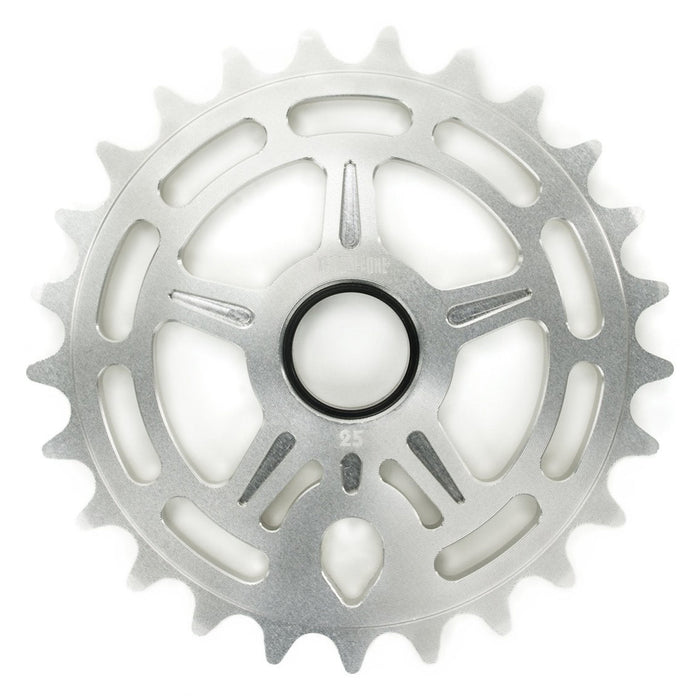 Terrible One Logan Run Sprocket in Silver at Albe's BMX Bike Shop Online