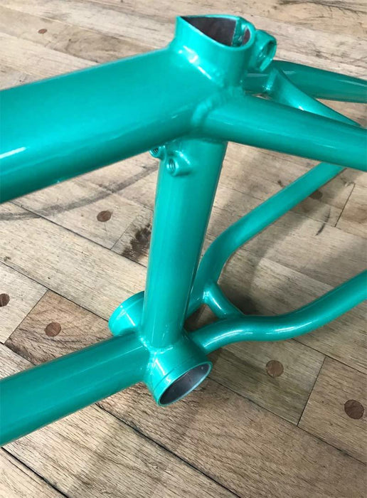 Total BMX Americano BMX Frame by Nick Bruce in Mint at Albe's BMX Bike Shop Online