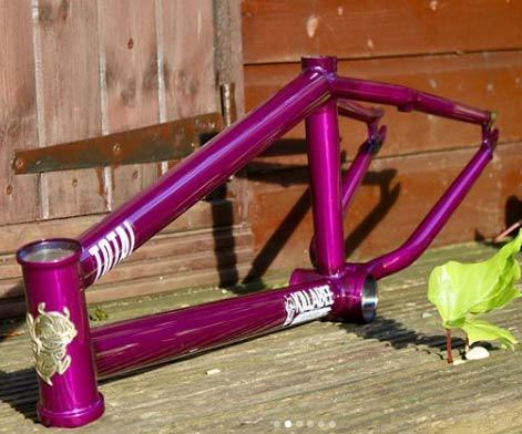 20.7 Inch Top Tube Frames