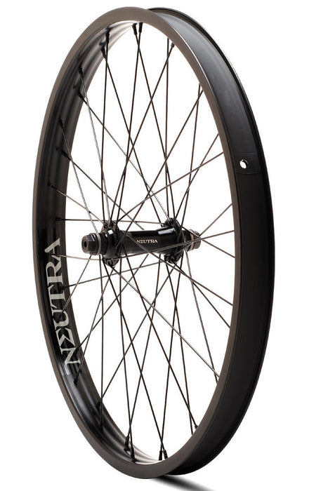Verde Neutra 22 inch Front Wheel in Black at Albe's BMX Online