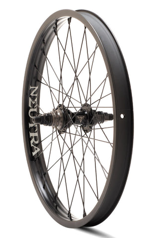 Verde Neutra 20 inch Rear Wheel in black at Albe's BMX Online