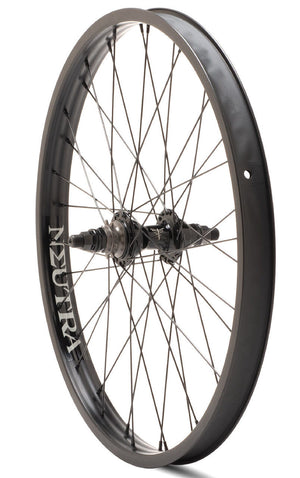 Verde Neutra 22 inch Rear Wheel in black at Albe's BMX Online