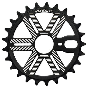 Verde Recon Sprocket in black at Albe's BMX Online