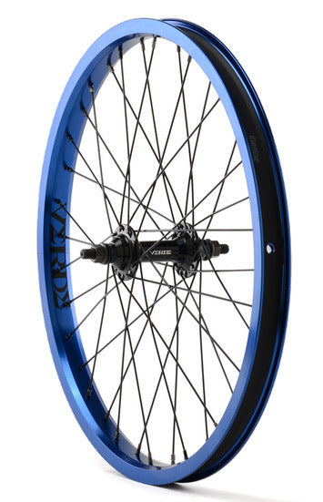 Verde Regent Front BMX Wheel in Blue at Albe's BMX Shop