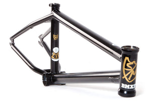 S&M Whammo BMX Frame in Black at Albe's BMX