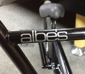 ALBE'S TECH LOGO DIE CUT STICKER