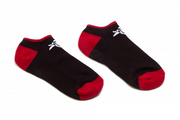 Animal Crew Socks (Low) Black/Red - One Size