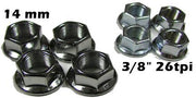 AXLE NUTS 14 mm
