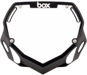 Box Two Number Plate Black/Large