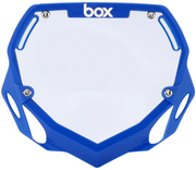 Box Two Number Plate Blue/Large