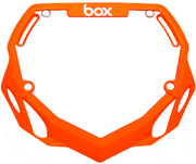 Box Two Number Plate Orange/Large